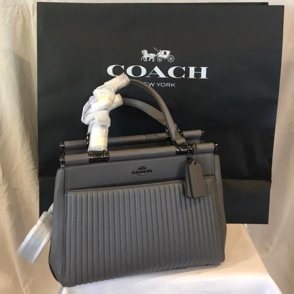9c8448b66622 Coach Handbags - Coach Selena Quilted Grace Bag
